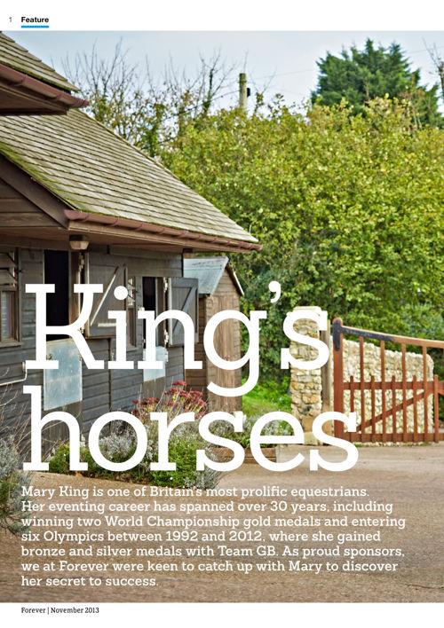 Kings Horses & Forever Living
