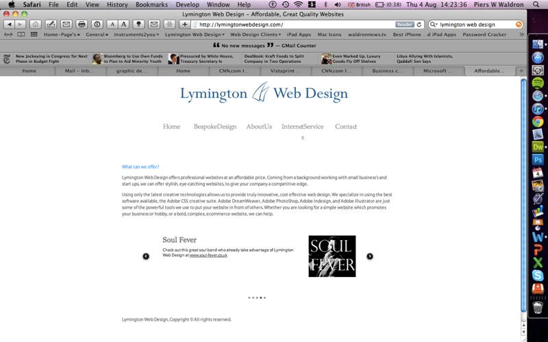 1st Company Website
