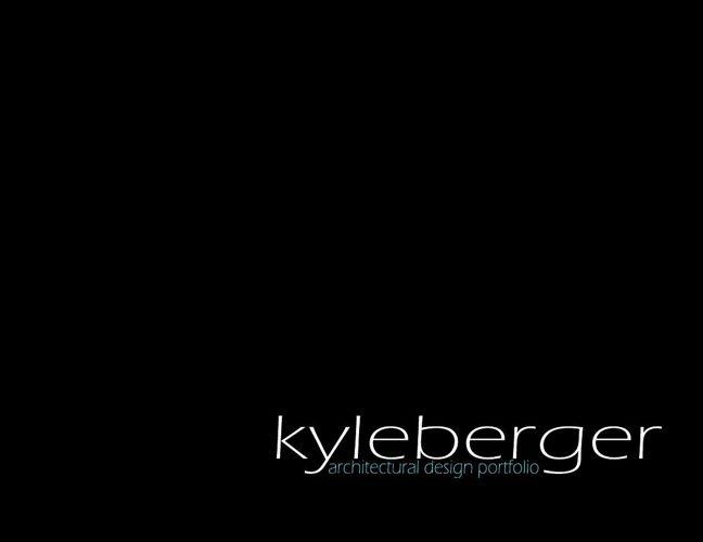 Kyle Berger Design Portfolio