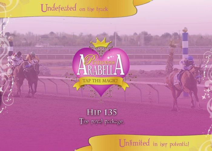 Princess Arabella flipbook