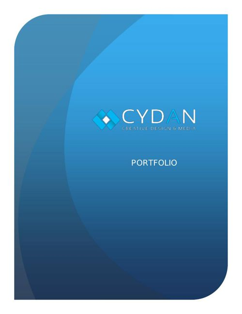 CYDAN- Portfolio booklet