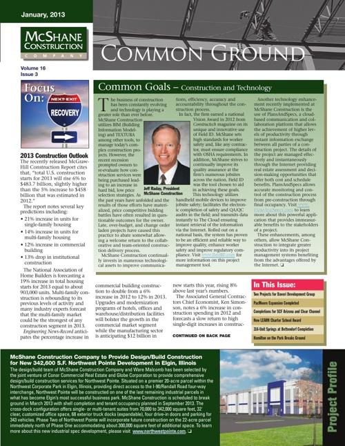 Common Ground - McShane Construction Company