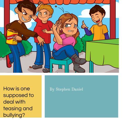 How to Deal with the Stressor of Bullying...