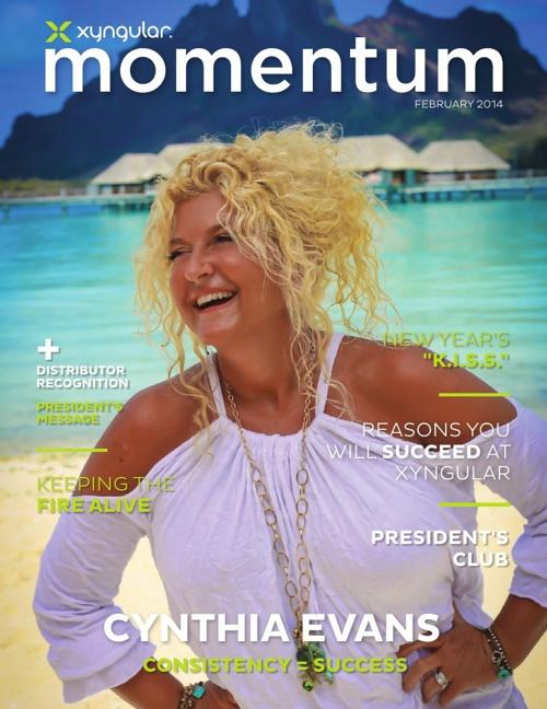Momentum February 2014