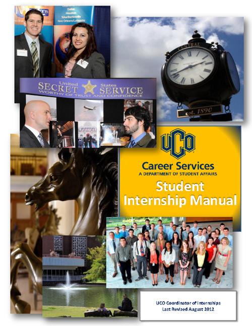 Student Internship Manual - 2012