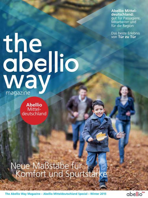 The Abellio Way Magazine - Mitteldeutschland edition