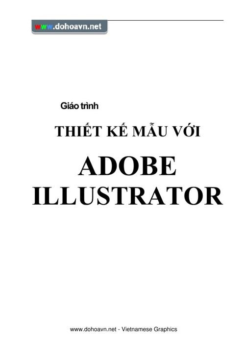 Giáo Trình Illustrator
