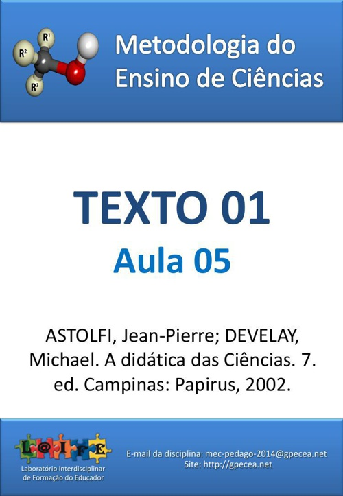 2015-MEQ1-AULA 06- TEXTO 01 DE REFERENCIA