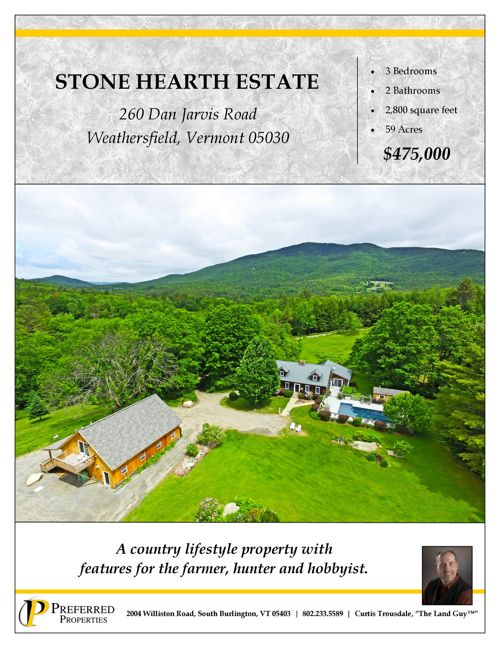 Property Information Brochure - Weathersfield- 2017