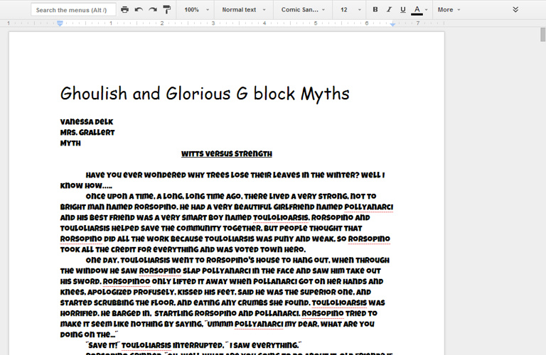 Copy of G FINAL MYTHS - Google Docs