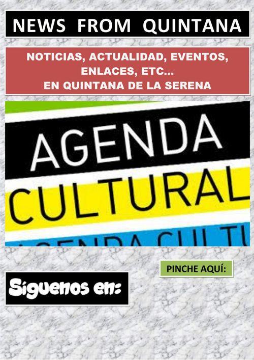 AGENDA CULTURAL AGOSTO 2017 QUINTANA DE LA SERENA