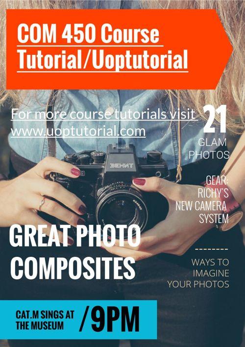 COM 450 Course Tutorial/Uoptutorial