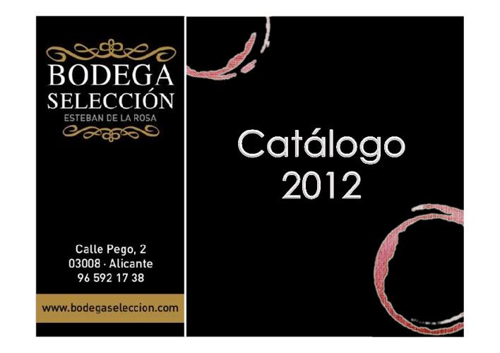 Catálogo Bodega Selección 2012