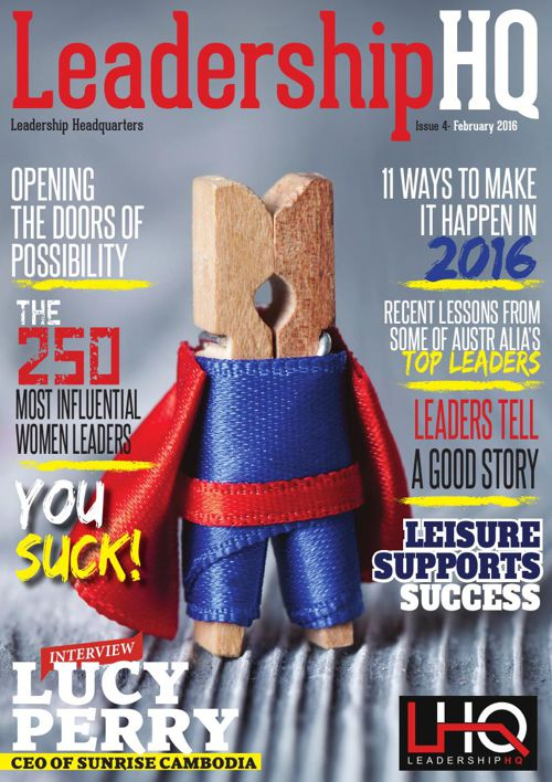 LeadershipHQ Magazine Issue 4 February 2016 SAMPLER