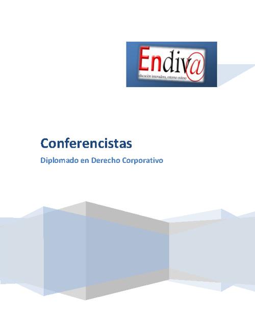 Semblanzas de los Conferencistas