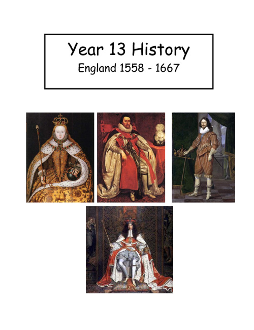Year 13 History Course Guide