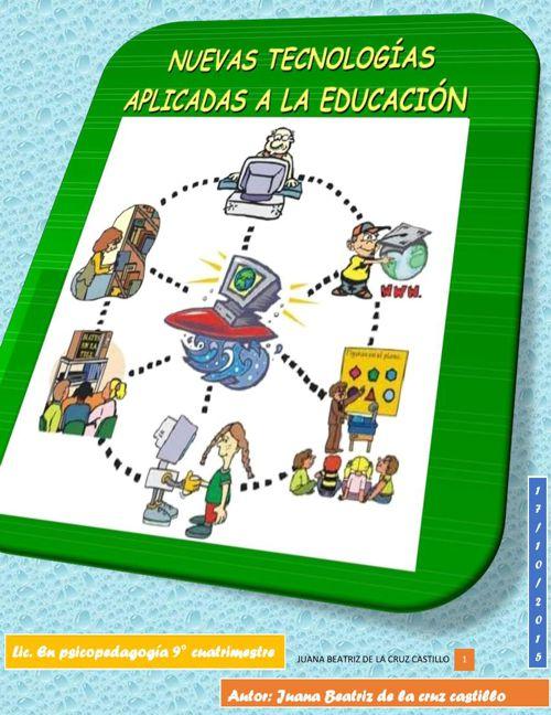 nuevas tecnologias aplicadas a la educación
