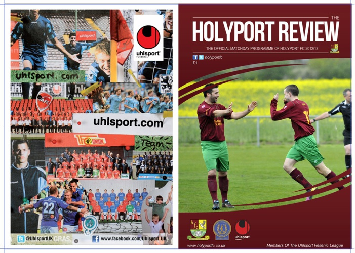 Holyport FC v Slimbridge - 23rd March 2013