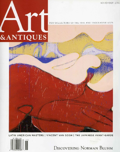 Art & Antiques Discovering Norman Bluhm