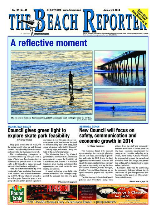 The Beach Reporter | 1-9-14