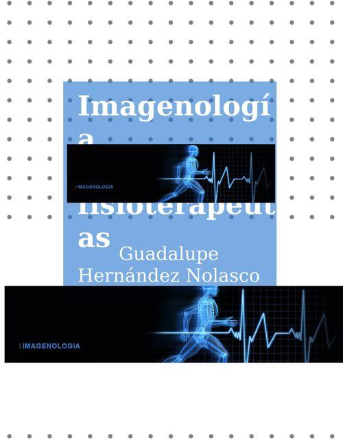 Copy of IMAGENOLOGÍA