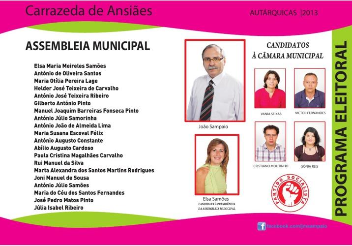 Programa Eleitoral PS 2013