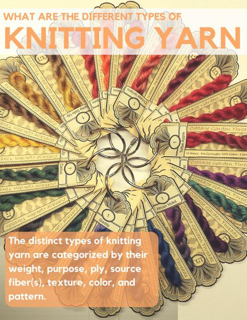 What are the Different Types of Knitting Yarn