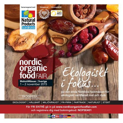 Nordic Organic Food Fair - Swedish