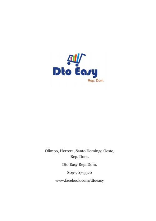 Dto Easy Rep. Dom. Catalogo 2013