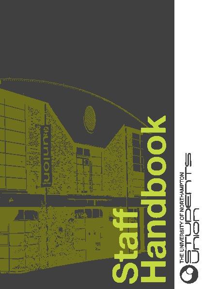 UNSU Staff Handbook