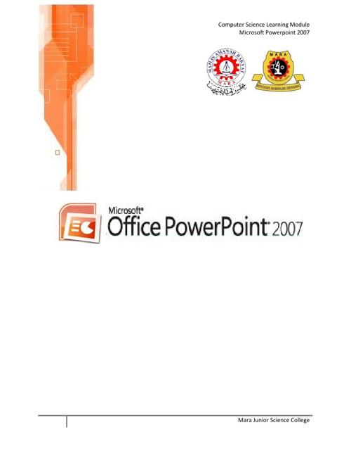 Modul Microsoft Powerpoint 2007