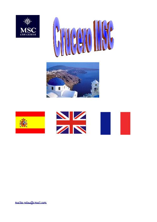 crucero rocio