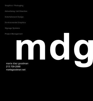 MDG Portfolio Toys