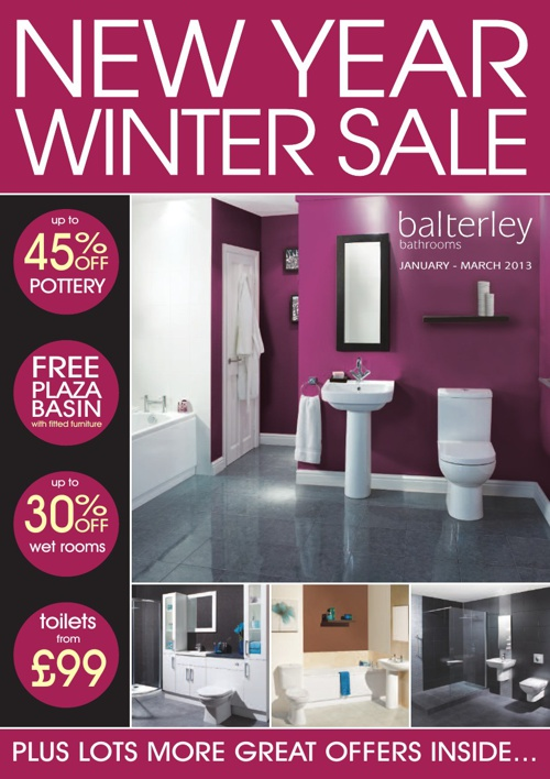 Tec Balterley New Winter Sale Jan-Mar 2013