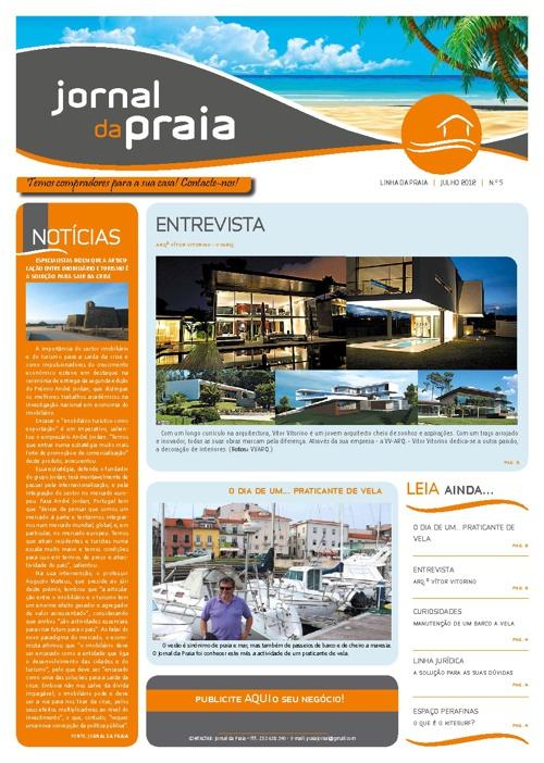Nova edição do Jornal da Praia já nas 'bancas'!