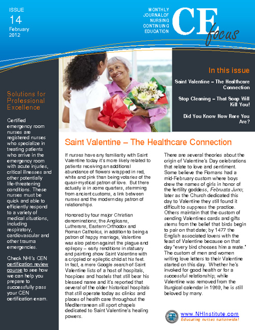 NHI February 2012 Newsletter