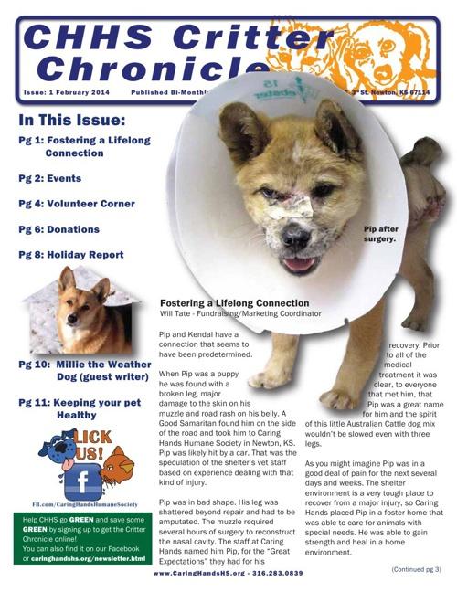 2014 February Critter Chronicle