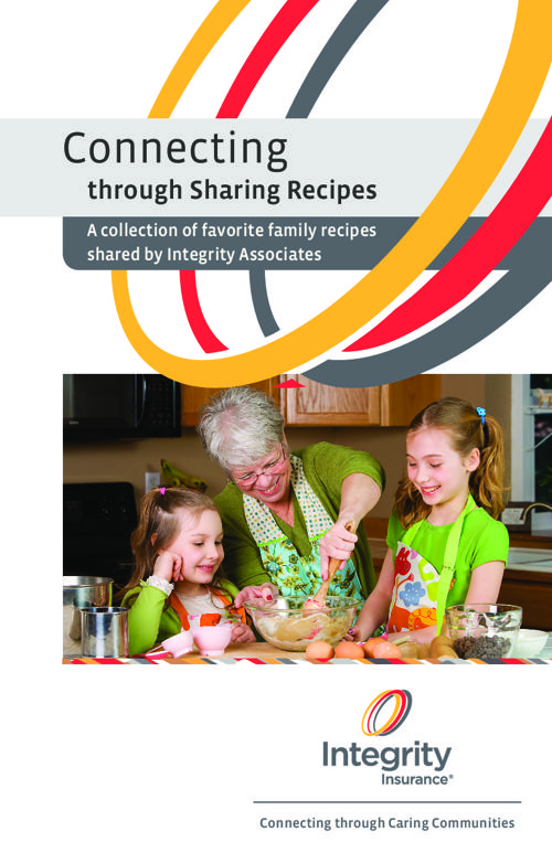 Connecting through Sharing Recipes