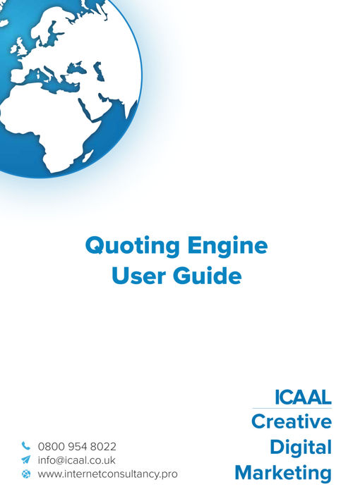 Quoting Engine User Guide
