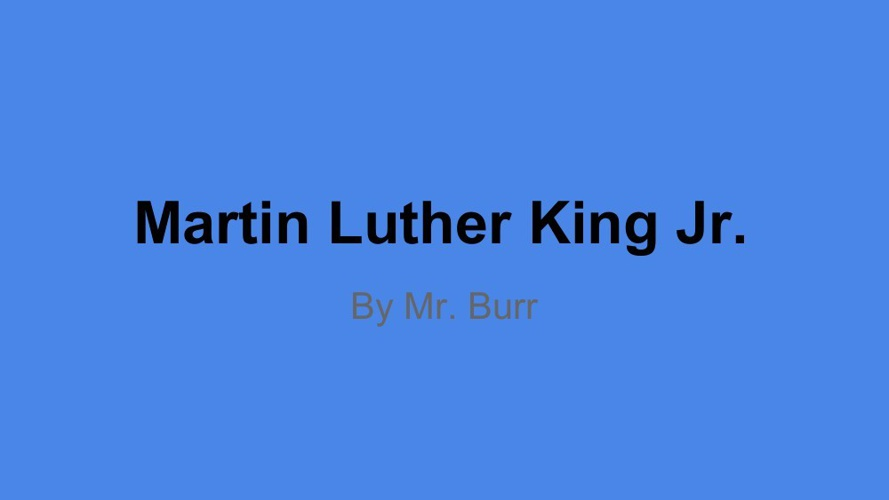 Copy 2 of Martin Luther King Jr.