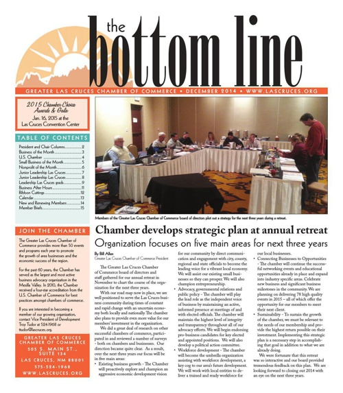 The Bottom Line December 2014
