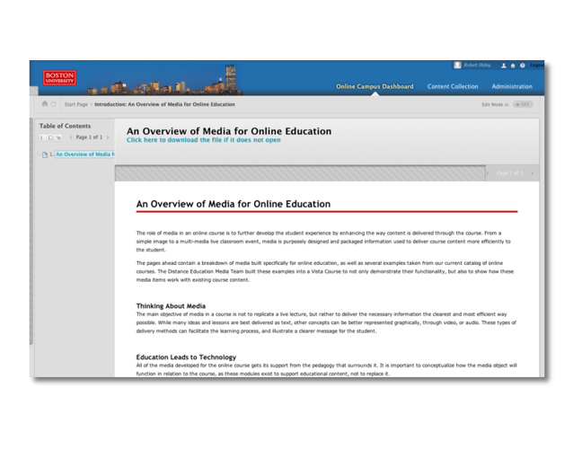 BU Online Faculty Showcase
