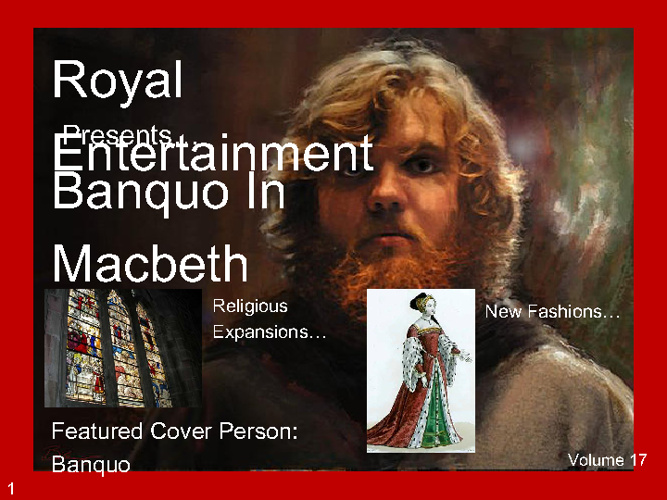 Macbeth Playbill