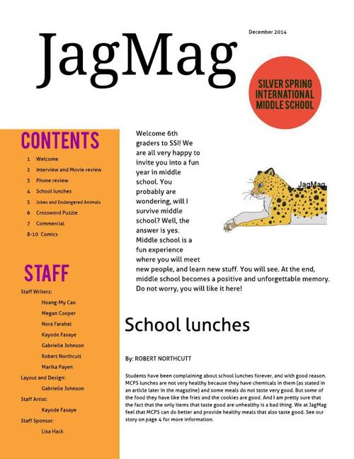 JagMag 2014