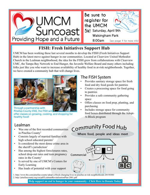 UMCM Suncoast Newsletter - March 2016