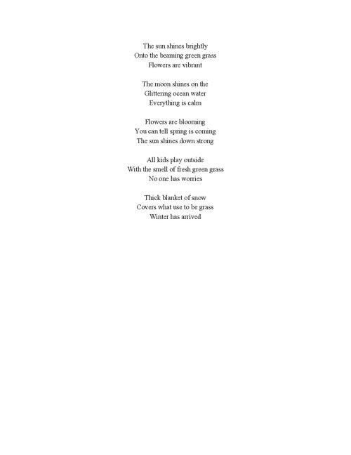 Haiku Final