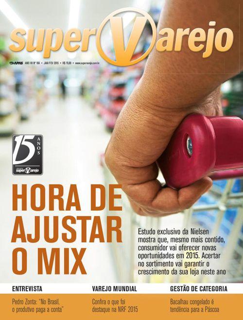 Revista SuperVarejo nº 166 Jan/Fev 2015