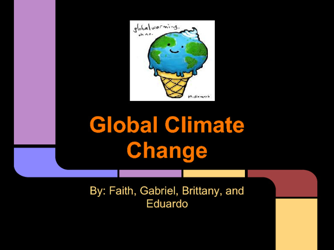 Global Climate Change Project
