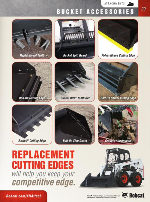 Bobcat Attachment Catalog Part 3