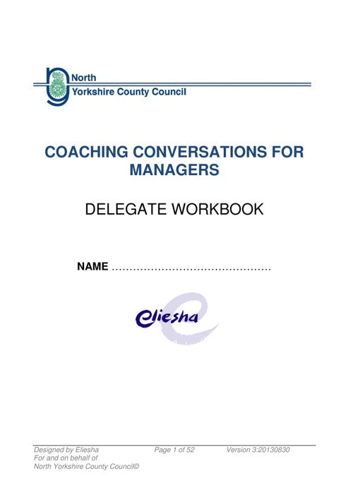 Coaching Conversations for Managers Version 3